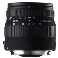 Sigma 18-50 mm F3.5-5.6 ASPH. DC 58 mm Objetivo (Montura Pentax K) negro
