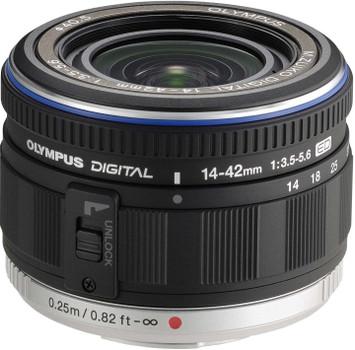 Olympus M.Zuiko Digital 14-42 mm F3.5-5.6 ED 0,5 mm Obiettivo (compatible con Micro Four Thirds) nero