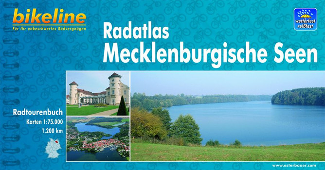 Bikeline Radtourenbuch: Radatlas Mecklenburgische Seen [5. Auflage 2009]