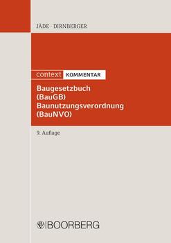 Baugesetzbuch (BauGB) Baunutzungsverordnung (BauNVO). context KOMMENTAR [Gebundene Ausgabe]