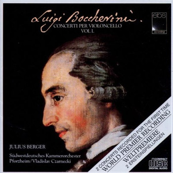 Julius Berger - Violoncellokonzerte Vol. 1