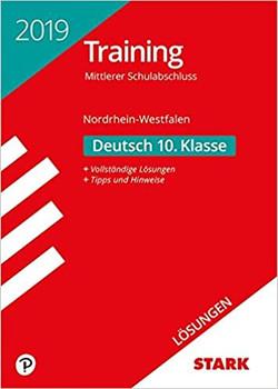Lösungen zu Training Mittlerer Schulabschluss - Deutsch - NRW [Taschenbuch]