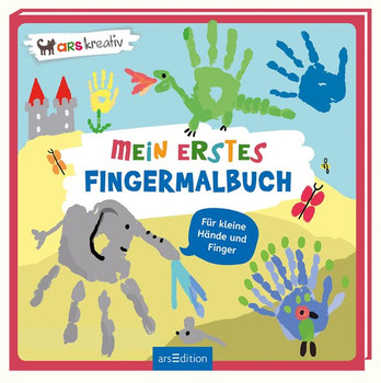 Mein erstes Fingermalbuch [Taschenbuch]
