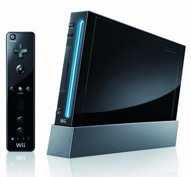 Nintendo Wii [mando incluído, sin juego, compatible con GameCube] negro