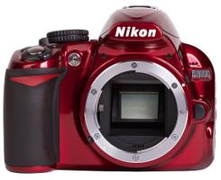 Nikon D3100 rouge