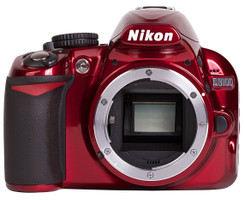Nikon D3100 Body rood