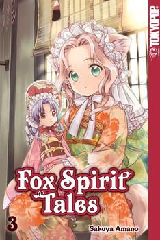 Fox Spirit Tales 03 - Sakuya Amano  [Taschenbuch]