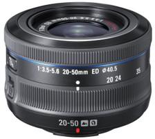 Samsung NX 20-50 mm F3.5-5.6 40,5 mm Obiettivo (compatible con Samsung NX) nero