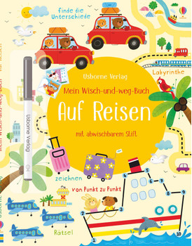 Mein Wisch-und-weg-Buch: Auf Reisen - Kirsteen Robson  [Taschenbuch]