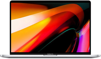 "Apple MacBook Pro mit Touch Bar und Touch ID 16"" (True Tone Retina Display) 2.6 GHz Intel Core i7 16 GB RAM 512 GB SSD [Late 2019, englisches Tastaturlayout, QWERTY] silber"