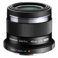 Olympus M.Zuiko Digital 45 mm F1.8 37 mm filter (geschikt voor Micro Four Thirds) zwart
