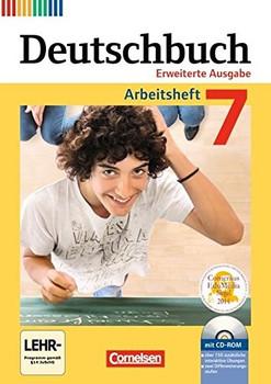 Deutschbuch 7 - Erweiterte Ausgabe: Arbeitsheft mit Lösungen und CD-ROM - Friedrich Dick [Broschiert, inkl. CD-ROM]