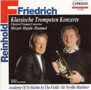 Reinhold Friedrich - Klassische Trompeten Konzerte