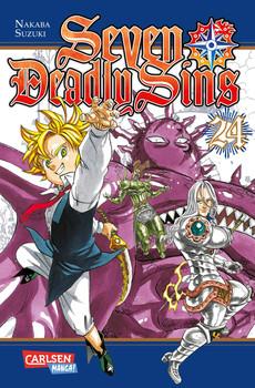 Seven Deadly Sins 24 - Suzuki Nakaba  [Taschenbuch]