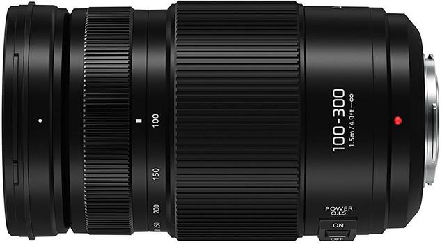 Panasonic Lumix G VARIO 100-300 mm F4.0-5.6 Power O.I.S. 67 mm filter (geschikt voor Micro Four Thirds) zwart
