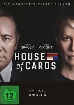 House of Cards - Die komplette vierte Season [4 Discs]
