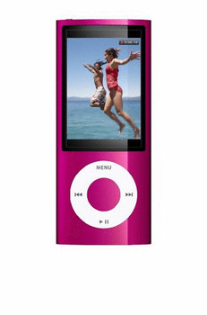 Apple iPod nano 5G 16GB con cámara rosa