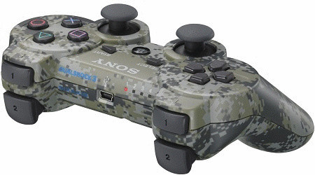 PS3 DualShock 3 Controller camouflage