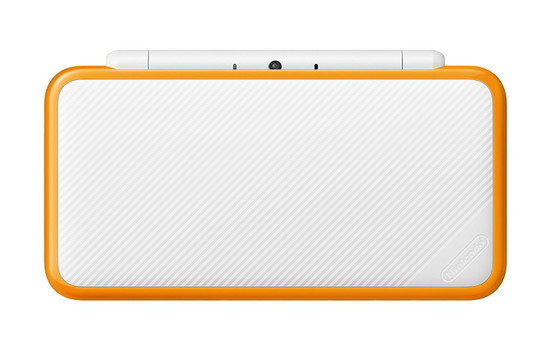 New Nintendo 2DS XL blanco naranja