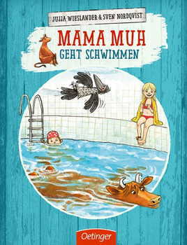 Mama Muh geht schwimmen - Jujja Wieslander  [Gebundene Ausgabe]
