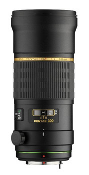 Pentax smc DA 300 mm F4.0 AL ED IF SDM 77 mm Objectif (adapté à Pentax K) noir