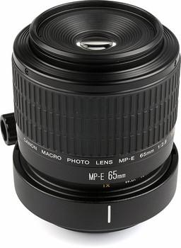 Canon MP-E 65 mm F2.8 (adapté à Canon EF) noir