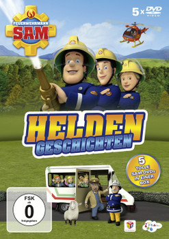 Feuerwehrmann Sam - Heldengeschichten [5 DVDs]