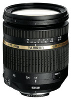 Tamron SP AF 17-50 mm F2.8 ASL Di IF LD VC II 72 mm Objetivo (Montura Canon EF) negro