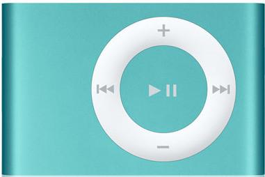 Apple iPod shuffle 2G 1GB turquoise