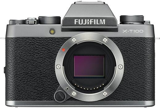 Fujifilm X-T100 body argent