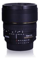 Sigma 15 mm F2.8 DG EX Diagonal-Fisheye (Montura Nikon F) negro