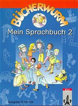 Bücherwurm, Sprachbuch, Ausgabe C, neue Rechtschreibung, Mein Sprachbuch 2 - Karin Bartkowski