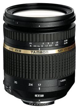 Tamron SP AF 17-50 mm F2.8 ASL Di IF LD VC II 72 mm filter (geschikt voor Canon EF) zwart