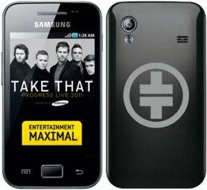 Samsung S5830 Galaxy Ace noir onyx [Take That Edition]