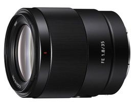 Sony FE 35 mm F1.8 55 mm Objectif (adapté à Sony E-mount) noir