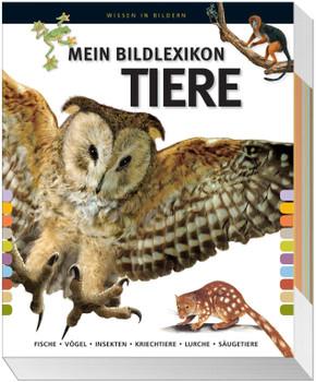 Mein großes Bildlexikon Tiere. Fische, Vögel, Insekten, Kriechtiere, Lurche, Säugetiere. [Taschenbuch]
