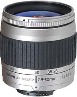 Nikon AF NIKKOR 28-80 mm F3.3-5.6 G 58 mm Objetivo (Montura Nikon F) plata