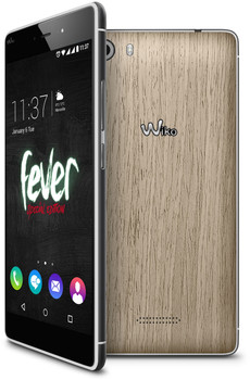 Wiko Fever 4G 32GB [special edition] houtkleurig