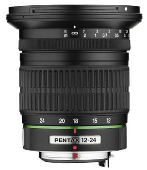 Pentax smc DA 12-24 mm F4.0 AL ED IF 77 mm filter (geschikt voor Pentax K) zwart