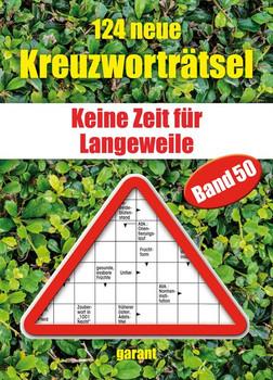 124 neue Kreuzworträtsel Band 50 [Taschenbuch]