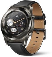 Huawei Watch 2 Classic 45mm gris titanio con correa de cuero negra [Wifi]
