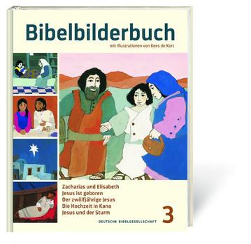 Bibelbilderbuch Band 3. Zacharias und Elisabeth. Jesus ist geboren. Der zwölfjährige Jesus. Die Hochzeit in Kana. Jesus und der Sturm. - Reihe: Was uns die Bibel erzählt [Gebundene Ausgabe]