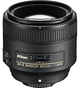 Nikon AF-S NIKKOR 85 mm F1.8 G 67 mm filter (geschikt voor Nikon F) zwart