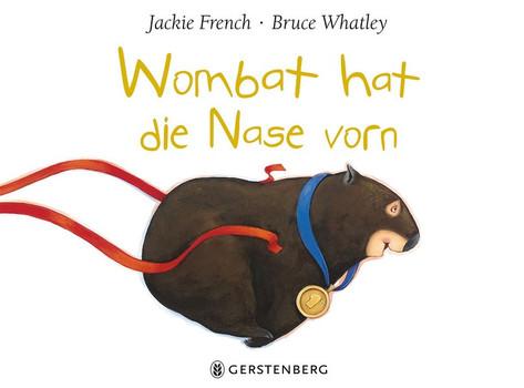 Wombat hat die Nase vorn - Jackie French  [Gebundene Ausgabe]