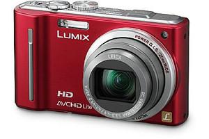 Panasonic Lumix DMC-TZ10EG rood