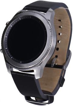 Samsung Gear S3 classic 33mm silver con correa de cuero black [Wifi]