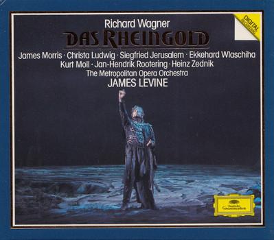 The Metropolitan Opera Orchestra - James Levine: Richard Wagner - Das Rheingold [3 CDs]