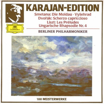 Herbert Von Karajan - Karajan-Edition: 100 Meisterwerke (Smetana / Dvorak / Liszt)