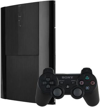 Sony Playstation 3 Super Slim 500 Gb Schwarz Inkl Wireless