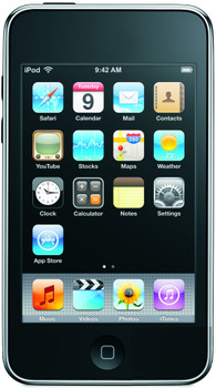 Apple iPod touch 3G 32GB negro